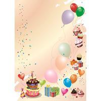 Дизайн-бумага Attache Веселый банкет-вечеринка (А4, 120 г/кв.м, в   упаковке 50 листов)