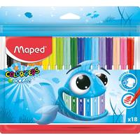 Фломастеры Maped Color'peps ocean 18 цветов