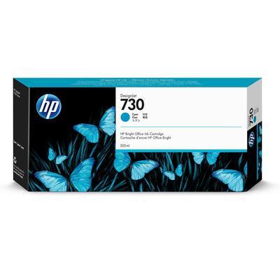Картридж струйный HP 730 P2V68A голубой оригинальный