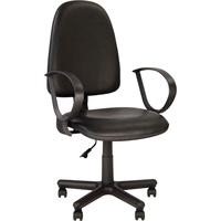 Кресло офисное Jupiter черное (искусственная кожа, пластик)