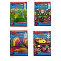 Набор картона Апплика (А4, 7 листов, 7 цветов, мелованный/немелованный)