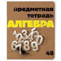 Тетрадь предметная по алгебре Альт Крафт А5 48 листов