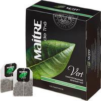 Чай Maitre de The Классический зеленый 100 пакетов