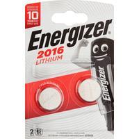 Батарейки Energizer Lithium CR2016 (2 штуки в упаковке)