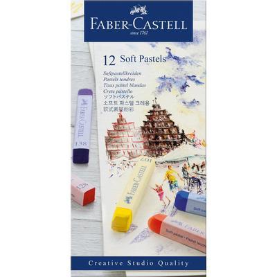 Пастель Faber-Castell Soft pastels сухая 12 цветов