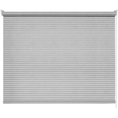 Рулонная штора Райли серая (1600x1600 мм)