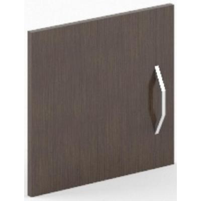 Дверь низкая левая Simple ЛДСП (легно дарк темный, 382x16x364 мм)