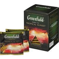 Чай Greenfield Tropical Sunset фруктовый 20 пакетиков