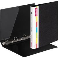 Папка на 4-х кольцах Attache 42 черная до 300 листов (пластик 0.7 мм)