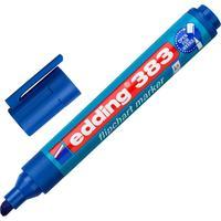 Маркер для бумаги для флипчартов Edding E-383/3 синий (толщина линии 1-5 мм) скошенный наконечник