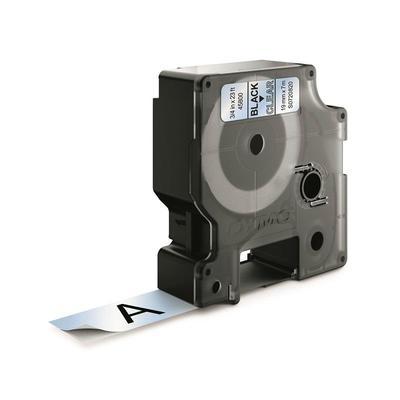 Картридж для принтера этикеток DYMO S0720820 D1 (19 мм х 7 м, цвет ленты прозрачный, шрифт черный)