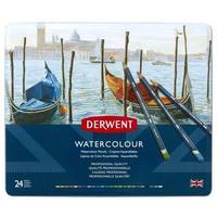 Карандаши цветные акварельные Derwent Watercolour 24 цвета