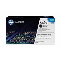 Картридж лазерный HP 649X CE260X черный оригинальный повышенной емкости