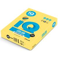 Бумага цветная для печати IQ Color желтая медиум ZG34 (А4, 80 г/кв.м, 500 листов)
