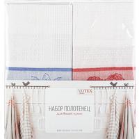 Набор полотенец Фрукты (черника, малина) 40х60 см 2 штуки в упаковке