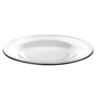 Тарелка десертная Pasabahce Invitation стеклянная прозрачная 200 мм (6 штук в упаковке, артикул производителя 10327B)