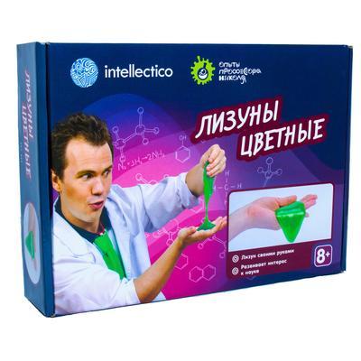Набор для химических опытов детский Intellectico Лизуны цветные