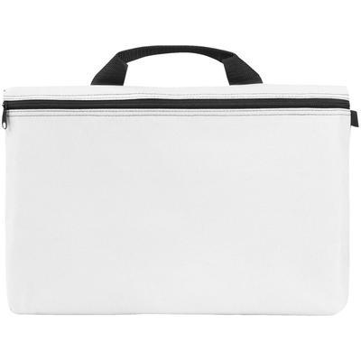 Конференц-сумка для документов Orlando полиэстер белая (39x3.5x27 см)
