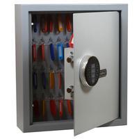 Шкаф для ключей Cobalt Key-50 серый/бежевый (на 50 ключей, металл)