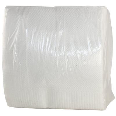 Салфетки бумажные 24x24 см белые 1-слойные 80 штук в упаковке