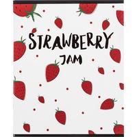 Тетрадь общая №1 School Strawberry Jam А5 48 листов в клетку на скрепке