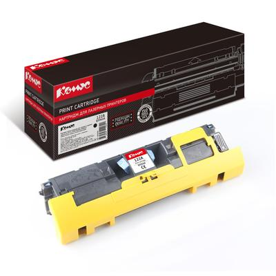 Картридж лазерный Комус 122A Q3960A для HP черный совместимый