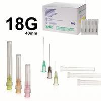 Игла инъекционнаяSFM 18G (1.2х40 мм, 100 штук в упаковке)