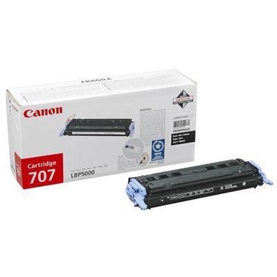 Тонер-картридж Canon 707 9424A004 черный оригинальный