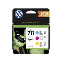 Картридж струйный HP 711 P2V32A CMY оригинальный (3 штуки в упаковке)