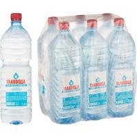 Вода питьевая Главвода негазированная 1.5 литра (6 штук в упаковке)