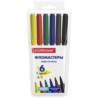 Фломастеры ErichKrause Basic 6 цветов