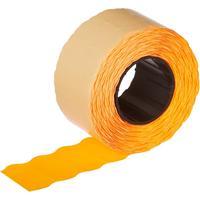 Этикет-лента волна оранжевая 26х12 мм (10 рулонов по 1000 этикеток)