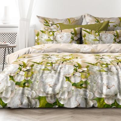 Постельное белье Любимый дом Яблоневый цвет (1.5-спальное, 2 наволочки 70х70 см, бязь)