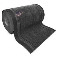 Коврик входной грязезащитный ворсовый дорожка 0,90х20м темно-серый-черный