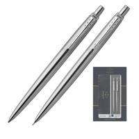 Уценка. Набор письменных принадлежностей Parker Jotter Stainless Steel  (шариковая ручка, карандаш)