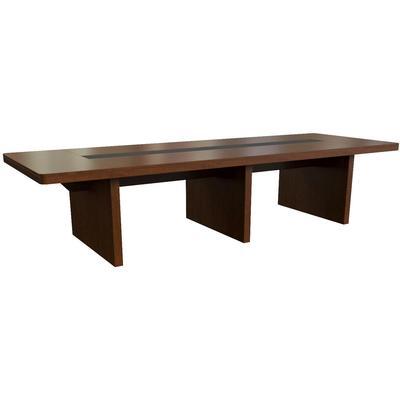 Стол для переговоров Kingston 28701 (темный орех, 3300x1200x750 мм)