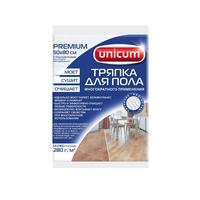 Тряпка для пола Unicum Premium вискоза 50х80 см белая