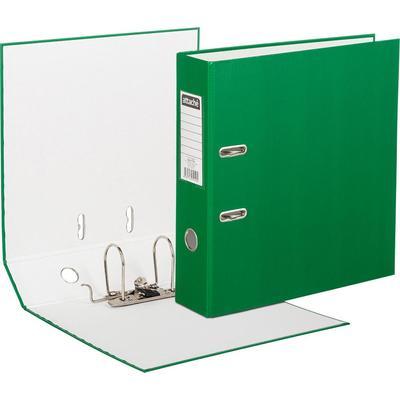 Папка-регистратор Attache Экономи 80 мм зеленая