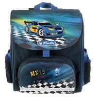 Ранец ортопедический Herlitz Mini Softbag Super Racer синий