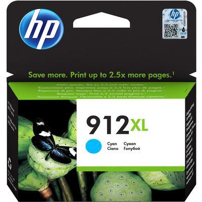 Картридж струйный HP 912XL 3YL81AE голубой оригинальный повышенной емкости