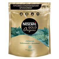 Кофе растворимый Nescafe Gold Origins Sumatra 400 г (пакет)