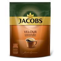 Кофе растворимый Jacobs Velour 140 г (пакет)