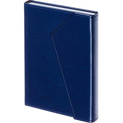 Ежедневник недатированный Attache Magnet искусственная кожа А5 180 листов синий (143х210 мм)