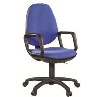 Кресло офисное Easy Chair Comfort GTP синее (ткань, пластик)