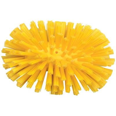 Щетка-ерш Hillbrush с подачей воды средней жесткости 216х137 мм желтая