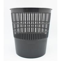 Корзина для мусора 10 л пластик серая (25.5х27 см)