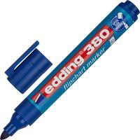 Маркер для бумаги для флипчартов Edding E-380/3 синий (толщина линии 2.2 мм) круглый наконечник