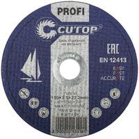 Диск отрезной по металлу проф. Cutop Profi Т41-150х2,5х22,2 мм (39986Т)