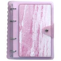 Бизнес-тетрадь Infolio Pocket A5 120 листов   в клетку на кольцах пластиковая обложка (175x212 мм)