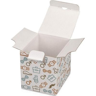 Коробка подарочная US Basic Camo белая (8х8х9.8 см)